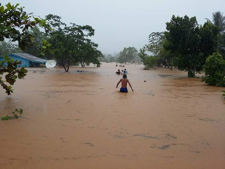 Banjir yang melanda Trans Kobe, saat-saat vulume air semakin bertamba tinggi  (Dok Ichan).